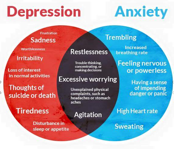 Depression Anxiety Causes